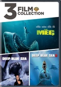 3 Film Collection: The Meg / Deep Blue Sea / Deep Blue Sea 2