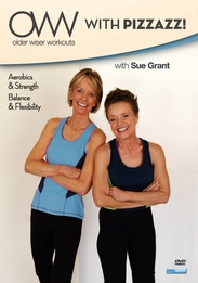 Sue Grant: Older Wiser Workouts - With Pizzazz